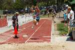 Lachlan leaping in the Long Jump