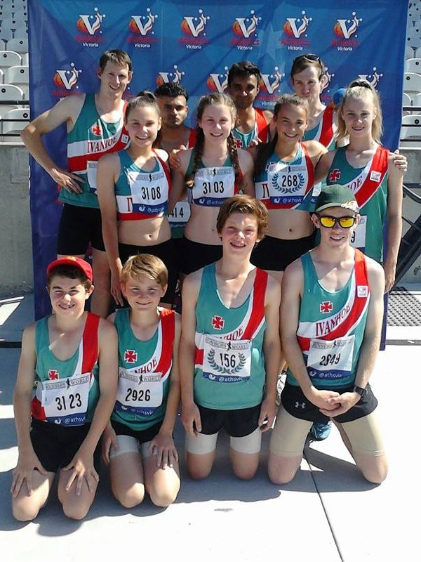 Mens Open, Womens Under 14 and Mens Under 14 Relay Teams