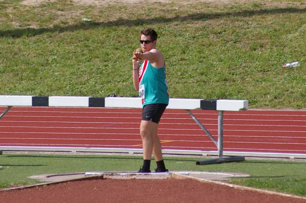 Philip at Shot Put