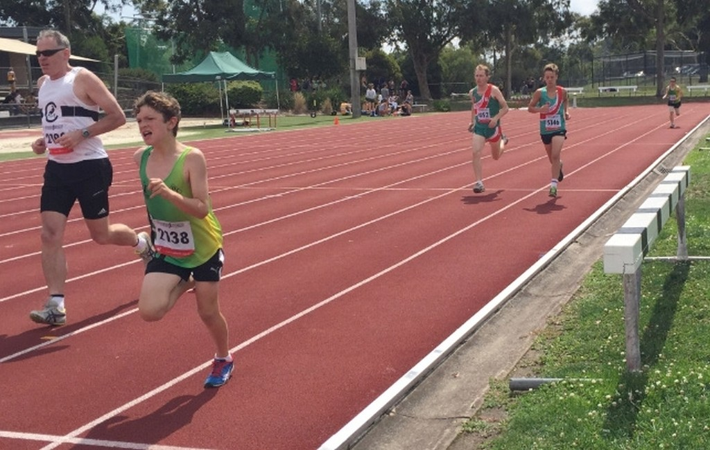 David and Lachlan (800m)