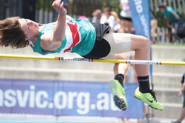 High Jump at 2016 Victorian Junior Championships